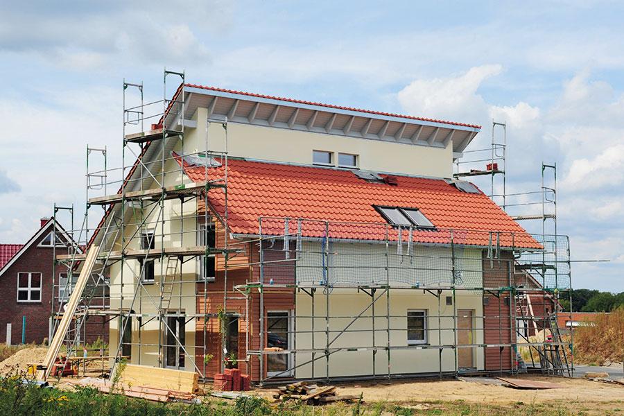 Haus Mietwohnung Einzug NEU Ortsschild Eigenheim Hausbau Hauskauf