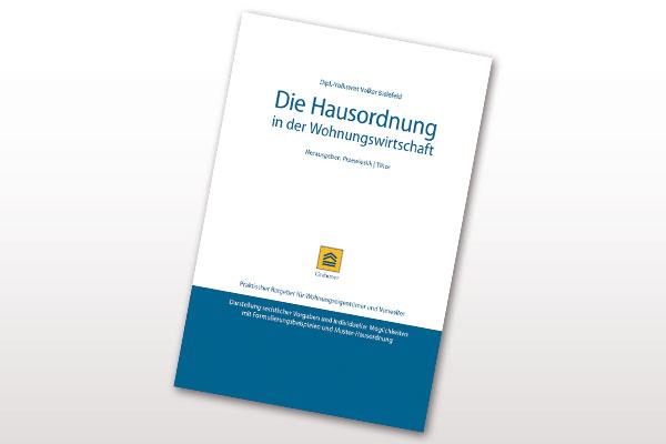 """Der Titel des Buches """"Die Hausordnung in der Wohnungswirtschaft"""""""
