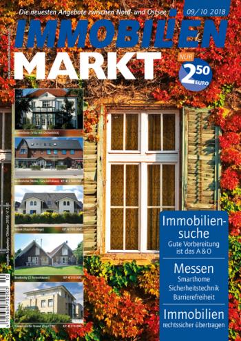 Titel IMMOBILIENMARKT Ausgabe 09/10 2018